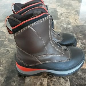 Lands End Waterproof Snow Boots Size 6